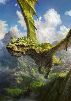 The beautiful digital art of Kotakan _ Fantasy Creatures: The Ultimate Guide to Mastering Digital Painting Techniques Fantasy Wesen, Fantasy Beasts, Fantasy Monster, Monster Art, Cool Dragons, Dragon Artwork, Dragon Pictures, Mythological Creatures, Creature Concept