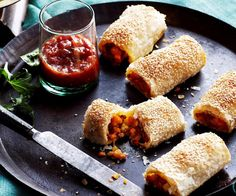 These quick and easy sausage rolls are a meat-free variation on a traditional family favourite. Made with lentils, vegies and sesame seeds, they are both nutritious and filling.