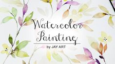 [ Level 5 ] How To Paint Leaves : Watercolour Painting Tutorial for Beginners…