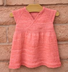 Baby tunic knitting pattern #ad