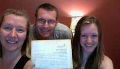 My family and a letter from Elvis! #mysponsoredchild