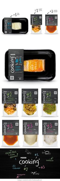 Eroski innovative cooking project packaging Curated by Packaging Diva PD