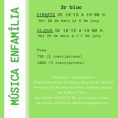 Música en família: 3r bloc