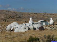 Module d'habitation de l'observatoire par Antti LOVAG.