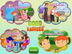 DepEd K to 12 : Good Manners and Right Conduct Manners For Kids, Good Manners, Table Manners, Teaching Manners, Teaching Kids, Good Habits For Kids, Certificate Of Recognition Template, Grab The Opportunity, Gang Up