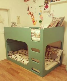 51 Cool Ikea Kura Beds Ideas For Your Kids Rooms. The Ikea beds are elegant furniture among the many product lines found at the Ikea stores in different countries. Kura Bed Hack, Ikea Kura Hack, Ikea Hacks, Ikea Loft Bed Hack, Kid Beds, Bunk Beds, Hackers Ikea, Bunk Bed With Desk, Murphy Bed Ikea