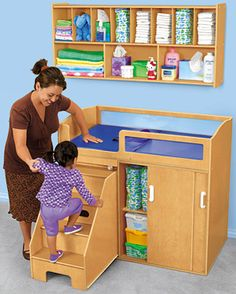 Step on Up! Toddler Changing Table @ $749.00  Changing Station Wall Unit @ $199.00  = $948.00