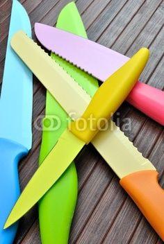 Coltelli colorati