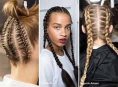 Spring/ Summer 2017 Hairstyle Trends: Dutch & French Braids