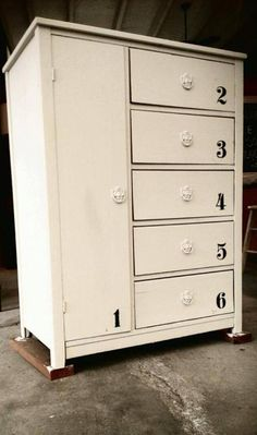 Chalk Paint® by Annie Sloan, Old Ochre and Graphite with Clear Wax by The Owl Box
