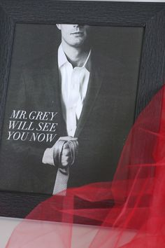 Free printables for a Fifty Shades of Grey party! | CatchMyParty.com #fiftyshades
