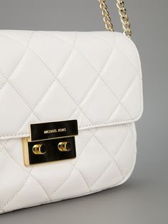 Bags - Michael Michael Kors Quilted Shoulder Bag - Tessabit.com – Luxury Fashion For Men and Women: Shipping Worldwide