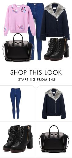 """hghjk"" by v-askerova on Polyvore featuring мода, Topshop, Carven и Givenchy"