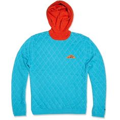 Adidas x Opening Ceremony Balaclava Hoody (Dark Orange & Aqua)