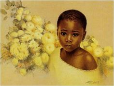 Shop for ''Little Flower'' by Carl Owens African American Art Print x 17 in. Get free delivery On EVERYTHING* Overstock - Your Online Art Gallery Store!