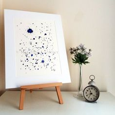 Blast - Original Abstract Ink Painting - NOT A PRINT