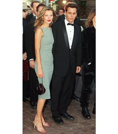 Cannes 1997 On Kate: Narciso Rodriguez for Cerruti dress. Could they be more stunning?