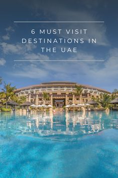 The United Arab Emirates is a modern and dynamic country immersed in culture and history. If you are planning (or dreaming of!) a visit here, be sure to check out these great destinations!