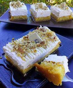 Cookbook Recipes, Baking Recipes, Baklava Recipe, Greek Sweets, Greek Recipes, Candy Recipes, Sweet Life, Cake Toppers, Cheesecake