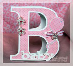Cricut Baby Card