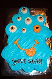 Sweet Cakes: Monster Pull Apart Cake