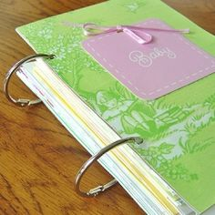 Save your greetings cards from baby showers, birthdays and holidays and more with this simple keepsake project.