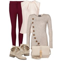 """Cardigan & Leggings Outfit"" by mozeemo on Polyvore"