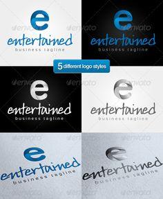 E' Entertain - Logo Design Template Vector #logotype Download it here: http://graphicriver.net/item/e-entertain-logo/1827519?s_rank=905?ref=nesto