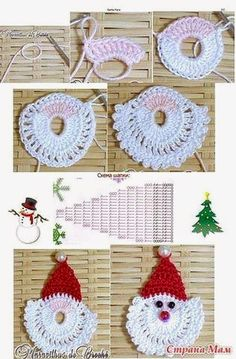 Pink accessories in knitting & crochet