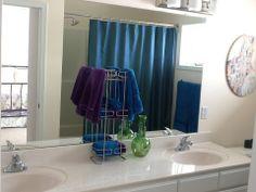 Master Bathroom - upgraded shower head and light fixtures.