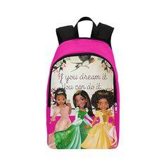 Black Princesses Disney Backpacks For Girls In High School School Knapsacks  Black Girl Magic African American Rucksack Black Girl backpack d4ebdfd1db2eb