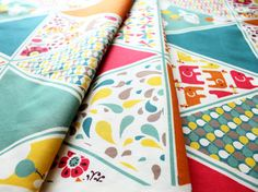birch fabrics Frolic Triangles