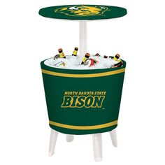 NDSU Bison Wordmark Four Season Event Cooler Table - $259.99
