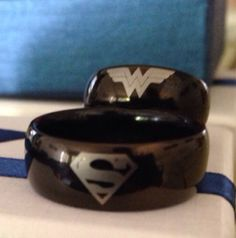 So cute!!! My husband reminds me of Superman and I collect Wonder Woman items! :-)
