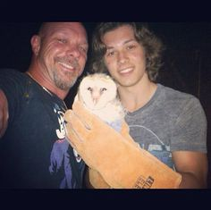 Leo Howard And His Dad Saved A Baby Owl May 25, 2013