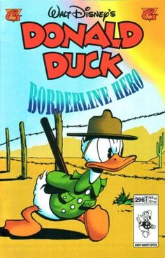 Cover for Donald Duck (Gladstone, 1986 series) [Direct] Donald Disney, Disney Duck, Disney Mickey, Disney Art, Disney Stuff, Cartoon Books, Cartoon Movies, Comic Book Characters, Disney Characters