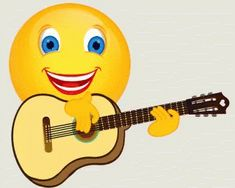 The perfect Emoji Guitar Smiley Animated GIF for your conversation. Discover and Share the best GIFs on Tenor. Emoji Images, Emoji Pictures, Funny Pictures, Smiley Emoticon, Emoticon Faces, Animated Emoticons, Funny Emoticons, Funny Emoji Faces, Emoji Symbols