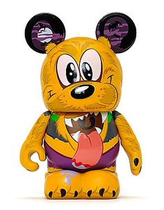 Vinylmation Spooky Series 2. Pluto Werewolf. Limited Edition.