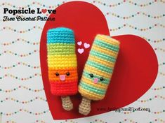 Crochet Amigurumi Rabbit Ideas Food Amigurumi - Kem que bằng len - Free Pattern Crochet Food, Crochet Bunny, Cute Crochet, Crochet Yarn, Crochet Summer, Crochet Things, Crochet Gratis, Crochet Patterns Amigurumi, Crochet Pillow