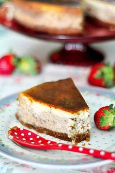 OBSESIÓN CUPCAKE: Strawberry Cheesecake