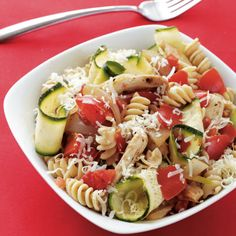 Pasta Primavera, the glorious rite of Spring, is a delicious blend of fresh vegetables with pasta in a light sauce that enriches, without overpowering the flavors of the produce. Like a springtime sunrise, enchanting.