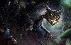 I like this picture because it very dream like. The Cheshire Cat's big grin sinister features makes him a very interesting character to me.