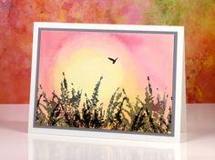 Sunrise with bird Heather Telford