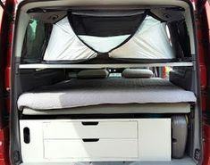 Camper dodávkou po svete: Spánok v Mercedese Viano Fun Mercedes Vito Camper, Caravans, Campervan, Outdoor Furniture, Outdoor Decor, Sleep, Bed, Inspiration, Mobile Homes