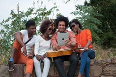 Image gratuite sur Pixabay - Les Jeunes, Afrique, Groupe, Jouer