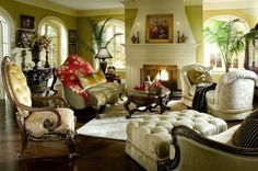 The Prince Beau Formal Living Room Collection