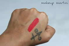 MAC La Vie En Rouge Lipstick Swatch Mac Lipstick Swatches, Red Lipsticks, Mac Russian Red, Beauty Corner, Tattoo Quotes, Tattoos, Makeup, Red, Make Up