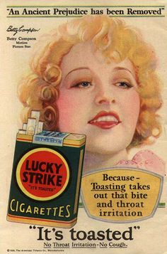 Lucky Strike Betty Compson