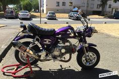 Le Honda Monkey J2 de Marty