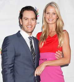 Mark-Paul Gosselaar and Catriona McGinn. The Saved By the Bell actor and the advertising executive got hitched at the Sunstone winery in Santa Ynez, Calif. July 28 2012.